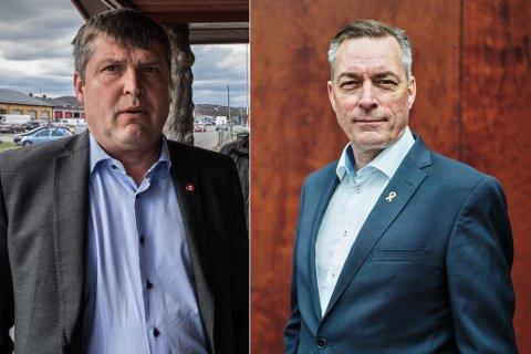 REAGERER: Bengt Rune Strifeldt (Frp) reagerer på at forsvarsminister Frank Bakke-Jensen (H) er innstilt som ny fiskeridirektør.