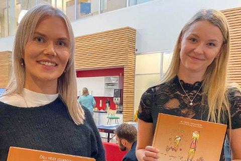 """GA UT BARNEBOK: Forfatter og forlegger Heidi Johansen og illustratør Ingvild Trøite Johnsen ble gode venner i løpet av prosessen med å skrive barneboka, """"Oli på rypejakt""""."""
