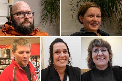 SATSER: Jon Nikolaisen (f.v øverst), Mali Garthe Andersen, Arnold Håkonsen (f.v nederst), Mona Skanke og Hilde Skanke er blant aksjonærene som satser i Børselv.