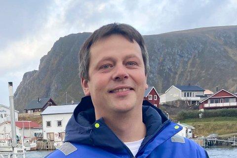 VENTER MANGE BÅTER: Sjef for Lerøy Norway Seafoods avdeling Sørvær, Frank Arne Ylänen, fikk telefoner fra fiskere som ønsket å levere fisk hos dem allerede den første uka i det nye året.