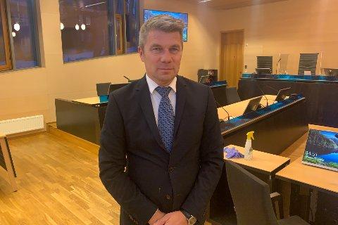 TUNGT: Trond Pedersen Biti er bistandsadvokat for den fornærmede mannen i 50-årene, som har hatt en tøff tid etter hendelsen.