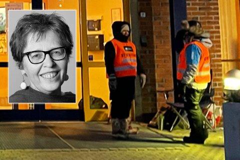 HARDT RAMMET: Direktør ved Helsepartner Nord-Norge AS, Trude Wester, sier at de fikk beskjed fire dager før streiken og var forberedt. - Streik er et lovlig virkemiddel, sier hun.