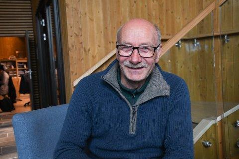 STÅR HAN AV: Tor Kjetil Wisløff (65) er glad over pengene som ble bevilget i dag. Han sier bedriften hans overlever, men det er tøft.