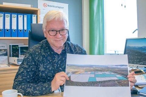 Næringssjef Jørgen Kristoffersen er glad for at Skillemo Industriområde nå endelig er byggeklart!
