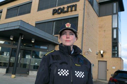 UNGE: Politioverbetjent Linda Merethe Knaplund sier at unger helt nede i 13-14-årsalderen bruker narkotika i Sør-Varanger.