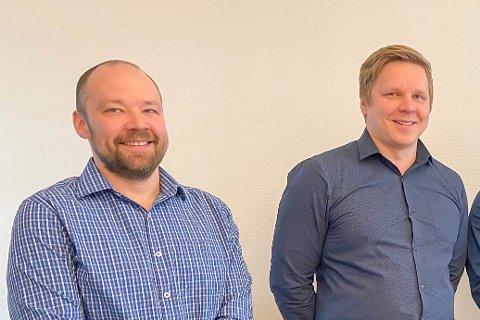 GOD IDÉ: Andreas Haugen og Magnus Haugen har hektiske dager med idéen de fikk i 2012.