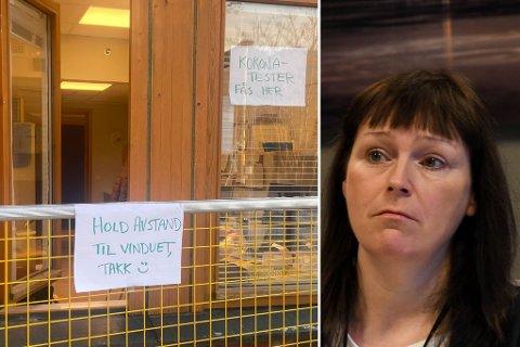 - MÅ FÅ DEMPET TRYKKET: Det sier Alta-ordfører Monica Nielsen om det siste smitteutbruddet i Alta. Nielsen forteller at to grep som man kan gjøre for å dempe trykket er at flere vaksinerer seg og at folk som har symptomer eller som er syke ikke drar på jobb eller skole.