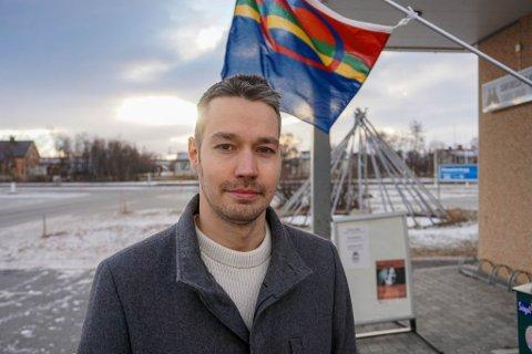 VI TAR DET: – Porsanger er den beste lokasjonen for et samisk Barnehus i Finnmark, forteller Glenn Jolma. Torsdag vil han utfordre kommunen til å starte jobben med å få det lagt til Porsanger.