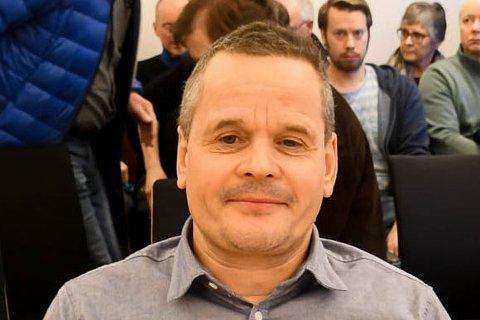 KRISEMØTE: Grieg Seafoods Roger Pedersen har vært i krisemøte med ledelsen mandag.