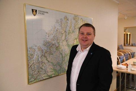 MYE STØTTE: SV-politiker Tommy Berg sier han har fått mye støtte fra rundt omkring i hele fylket etter at han forrige helg tapte nominasjonskampen om å bli SVs førstekandidat fra Finnmark til høstens stortingsvalg.