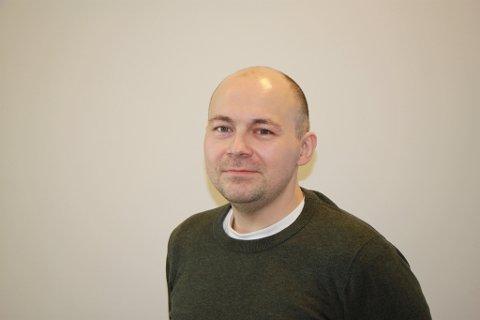 SØKER: Ken Roger Småvik-Jensen ønsker seg jobben som HR-leder i kommunen.