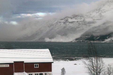 STORT SKRED: - Langfjord er et utsatt område, sier Randi Emaus,