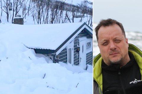 FORBANNA: Knut Hurthi (50) sier han er både provosert og forbanna over at kommunen ikke svarer på henvendelsene hans.