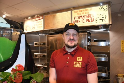FAST JOBB: Stig-André Lundberg i Alta begynte 1. februar i fast jobb som avdelingsleder på Pizzabakeren i Alta.