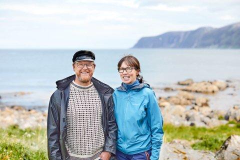 UTFORDRENDE TID: Steinar og Stina Halvorsen driver Sandland Brygge. De har vært gjennom et tøft koronaår, men har store planer for framtiden på Sandland.