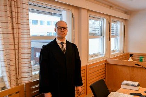 AKTOR: Politiadvokat Julius Suhr Hemminghyth var aktor i saken mot mannen.
