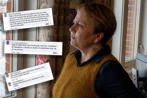 BEKYMRET: Ordfører i Porsanger, Aina Borch, er bekymret for hvordan folk omtaler hverandre på sosiale medier.