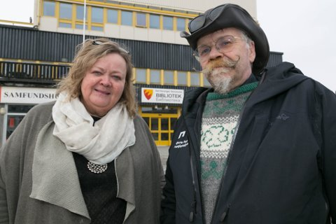 IKKE BRA: Høyres Nina Danielsen og Senterpartiets Kurt Pasvikbamsen Wikan mener det er uhørt at kommunen gir Rune Rafaelsen tre måneders etterlønn når han nå er ferdig som ordfører. - Kall det gave, det er det det er, sier de.
