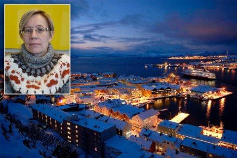 I HAMMERFEST: Siv June har sammen med to andre gått i gang med yogatilbud i Hammerfest.