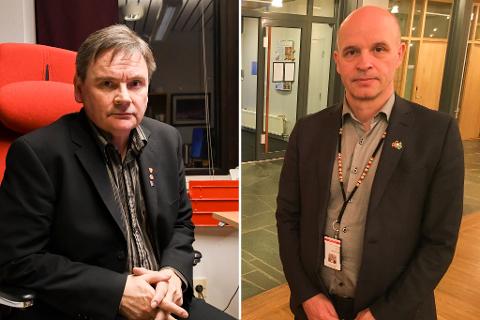 SAMLER LOKALE: Ordfører Svein Atle Somby og sakskoordinator Rune Fjellheim inviterer lokale aktører for å si sin mening under onsdagens møte.