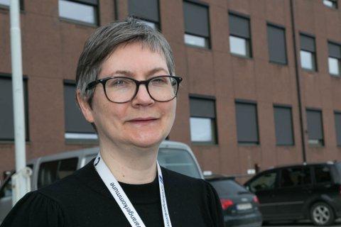 TIÅRSJUBILEUM: Lena Norum Bergeng har tiårsjubileum som kommunepolitiker i Sør-Varanger i 2021.