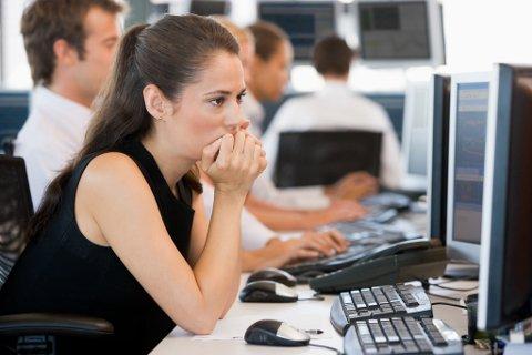 MISFORNØYD: Det er ikke alle som er helt fornøyde med sjefen. Det kan det være flere grunner til.