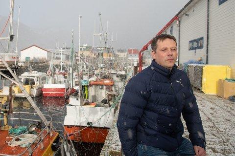 MISFORNØYD: Frank Magne Ylänen er ikke fornøyd med at arbeidere ikke fikk komme inn i Norge for å jobbe i fiskeindustrien like før skreisesongen startet for alvor.