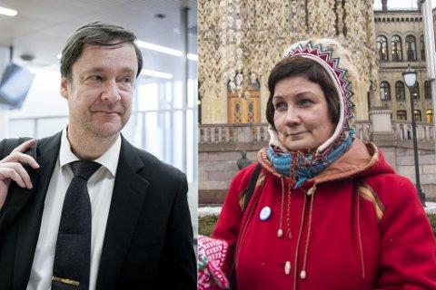 VIKTIG: Både John Christian Elden og Aili Keskitalo mener det nye rettsstedet vil styrke rettssikkerheten i nord.