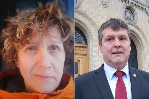 OPTIMIST: Førstekandidat for Pasientfokus, Irene Olja, tror på stortingsplass etter høstens valg. Det kan gå på bekostning av Frps Bengt Rune Strifeldt