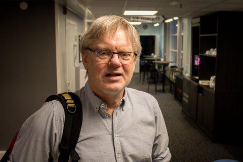 BEKYMRET: Peter Prydz, fastlege i Hammerfest. og fylkestillitsvalgt i Allmenlegeforeningen.