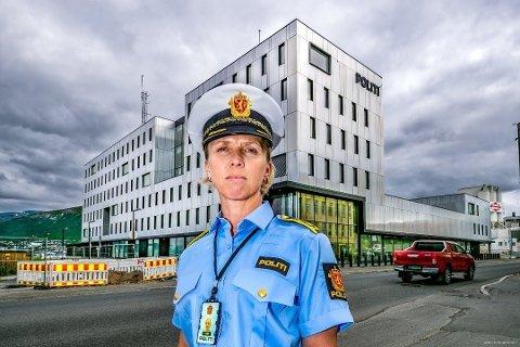 SVINDLET: Politiet i Troms samarbeider tett med Kripos i etterforskningen i etterkant av at en mann fra Troms ble svindlet for 2,5 millioner kroner. Trude Kvanli er politiadvokat i Troms politidistrikt.
