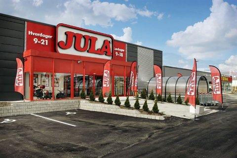 Jula planlegger nå å åpne ny butikk i Alta.