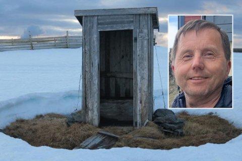 Steinar Amundsen har tatt bilde av utedassen på Gjesværfjellet til (nesten) samme dato siden 2013. I 2020 var det mest snø den aktuelle dagen, mens den i 2017 lå til langt uti juni.
