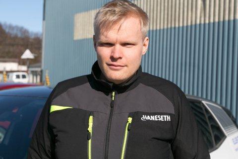 ETABLERING: Jens-Kristian Jenssen er daglig leder i Haneseth Varanger.