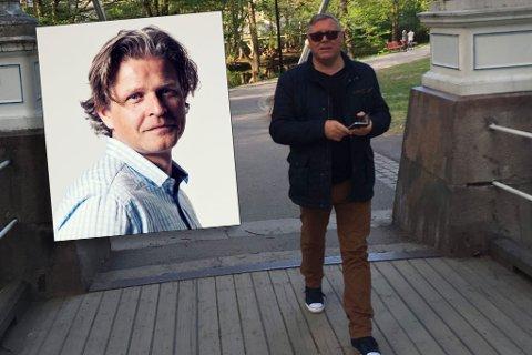 STOPPET ALT: – Vi har stoppet all jobbing for Jahn Nielsen (t.h.) og Caflo Internasjonal etter at vi ikke har fått betalt for jobben vi har gjort, forteller Gaute Christensen (innfelt).