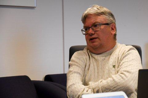 GJERNE FLERE: Kommunalleder John Helland i Alta kommune, skulle gjerne sett at flere søkte på jobben som kommuneoverlege.