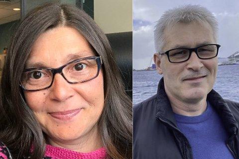 STERKT ENGASJEMENT: Elin Mølmann Holmgren og Terje Wikstrøm har engasjert seg i saken om Berit Hansen.