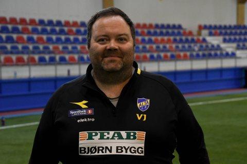 TRENER: Alta-trener Vidar Johnsen.
