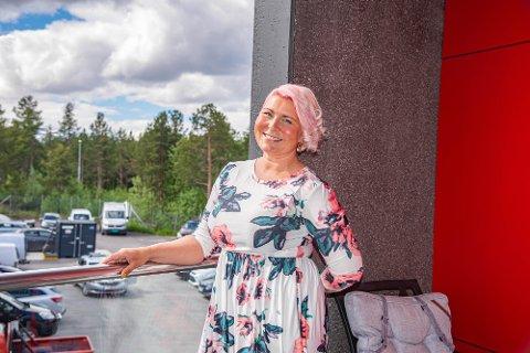 EGEN BEDRIFT: Tanja Lund-Lyngmo trivdes så godt med musikkbasert behandling, at hun startet egen bedrift.