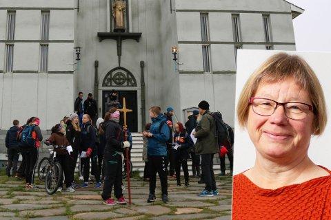 FÅ SØKERE: Store årskull av prester blir pensjonister, samtidig som det er færre som søker seg til teologistudiet, ifølge Anne Skoglund.