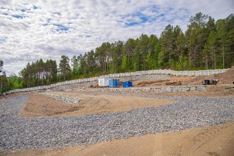 280 NYE PLASSER: Her kommer det 280 nye plasser, ny molok og nye vannposter.