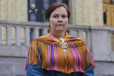 STATSSEKRETÆR: Nancy Porsanger Anti kom ikke inn på Stortinget ved høstens valg. Men i dag ble hun statssekretær i Kommunaldepartementet.