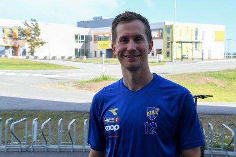TRIVES: Morten Gamst Pedersen sier han stortrives som fotballspiller for Alta IF for tiden.