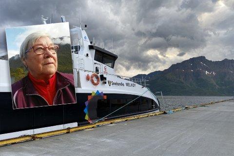 KUTT: Både innbyggere og politikere i Loppa kommune er frustrerte over manglende båttilbud.