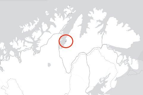 LAV SPENNING: Det var kun to lynnedslag i Finnmark mandag, i Cahppilcohkka i Porsanger. De to kom om morgenen, før tidsperioden varselet egentlig gjaldt for.
