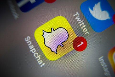 SNAPCHAT: Altamannen skal ha chattet ved gjentatte anledninger via Snapchat med jenta (13) og fått henne til å sende bilder.