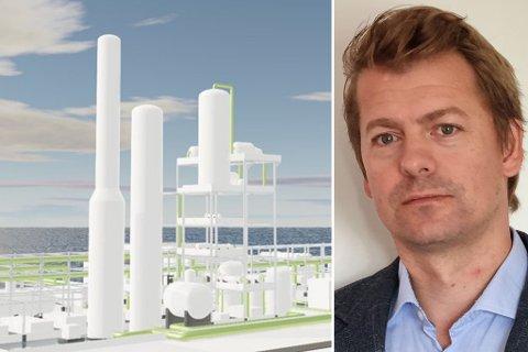PLANLEGGER: Prosjektleder Simen Haukland i St1 Norge vil satse i Norge.