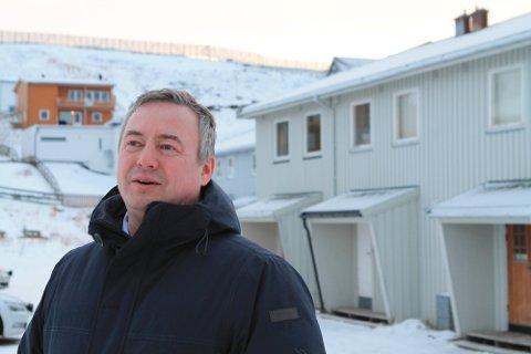 FORNØYD: Egil Haugen ser frem til nye utfordringer som daglig leder for utleieprosjektet. Her fotografert ved en annen anledning.