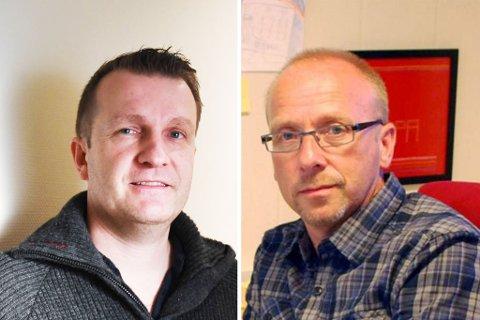 TAR OVER: Gusdal (t.v.) tar over etter Grønlund som slutter i jobben 1. november.