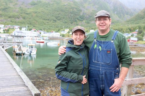 TRIVES I BERGSFJORD: Patricia De Wilde-Van Polen og Cornelis Simon Hendrik De Wilde driver De Wilde Slipp og Mek AS og Loppa Seafishing AS. Sistnevnte startet de med for to år siden.
